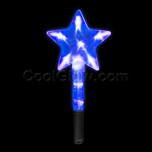 LED Super Star Wand - Blue