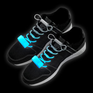 LED Shoe Laces - Blue