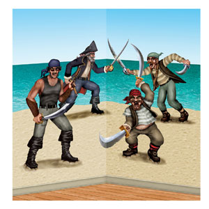 Dueling Pirate and Bandit Props- 3ct