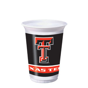 Texas Tech 20 oz. Cups