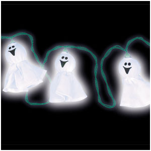 Light-Up Ghosts- 10ft