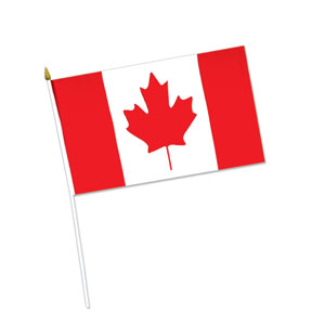 Canadian Flag- 6in