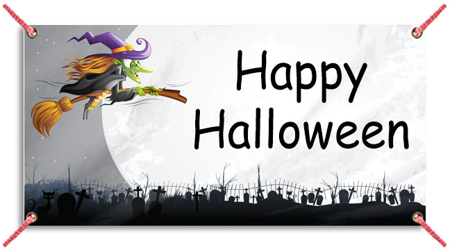 Colorful Witch - Custom Banner