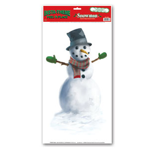 Snowman Peel n Place - 12x24in