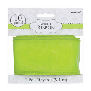 Honeydew Wired Ribbon- 300ft