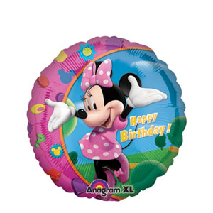 Minnie Happy Birthday Balloon- 18 Inch