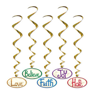 Christmas Word Whirls - 5ct