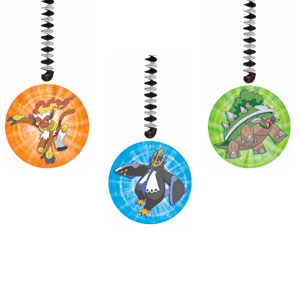 Pokemon Dangling Cutouts- 3ct