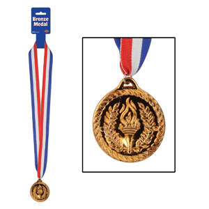 Bronze Medal with Ribbon- 30in