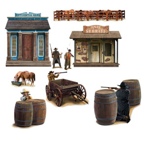 Wild West Shootout Props- 9ct