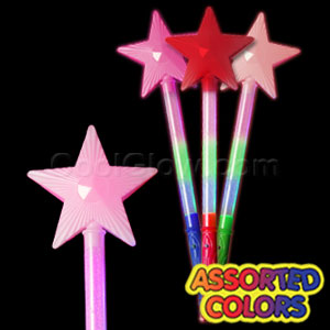 LED Star Wands - Assorted