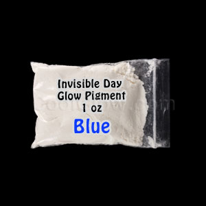 Glominex Glow Pigment 1 oz - Invisible Day Blue