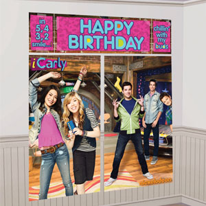 iCarly Wall Decorating Kit- 5pc