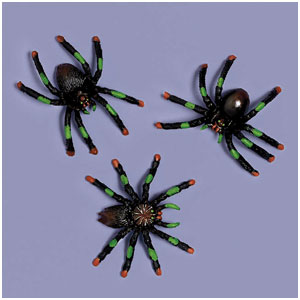 Assorted Spiders- 8ct