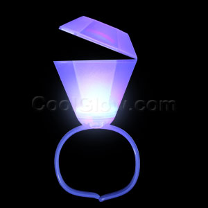 LED Jumbo Diamond Bracelet - Blue