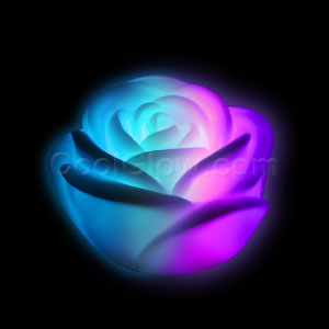 LED Color-Morphing Rose Mood Light