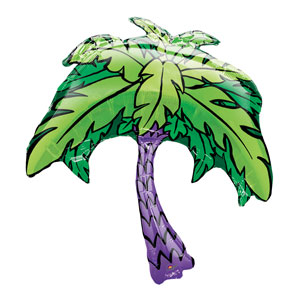 Palm Tree Shape Balloon- 29in