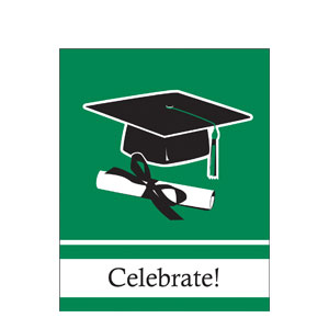 Grad Invitation - Green