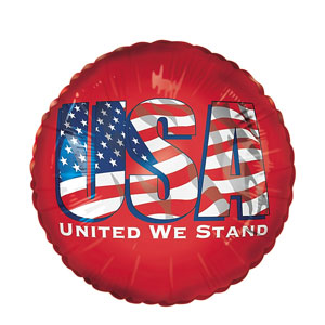 United We Stand Balloon- 18in
