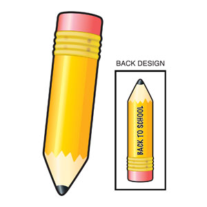 Back To Schol Pencil Cutout