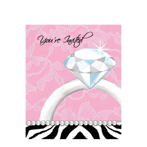 Ring Bachelorette Invitations