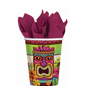 Tropical Tiki 9 oz. Cups- 50ct