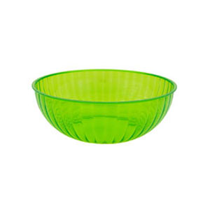 Neon 192 Ounce Plastic Party Bowl - Green