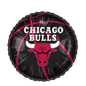 Chicago Bulls Balloon- 18in