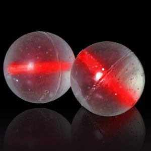 Glow Bouncing Balls - Red