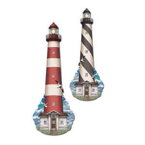 Lighthouse Cutout- 16in