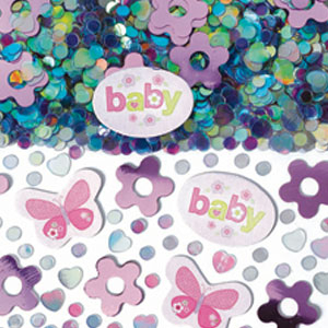 Girl Printed Confetti Mix - .5 oz