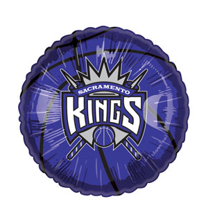 Sacramento Kings Balloon- 18in