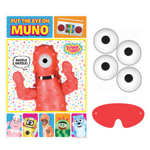 Yo Gabba Gabba Party Game- 4pc