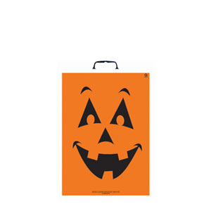 Pumpkin Face Treat Bag- 16in