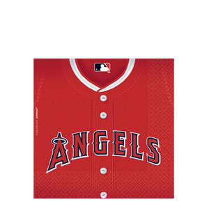 Los Angeles Angels Luncheon Napkins- 36ct