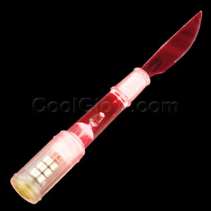 LED Knife - Red