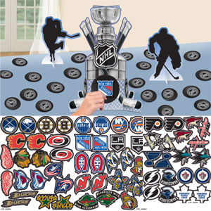 NHL Customizable Table Decorating Kit- 83pc