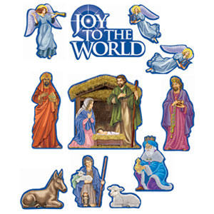 Nativity Cutouts- 12ct