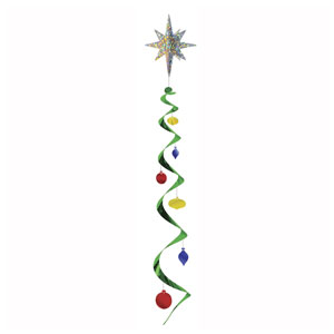 Jumbo Christmas Star Whirl - 4ft