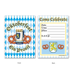 Oktoberfest Invitations - 8ct
