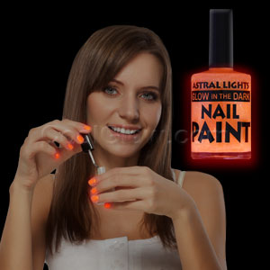Glow in the Dark Nail Polish - Orange