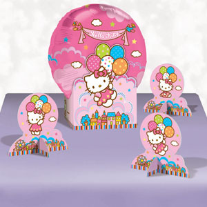 Hello Kitty Balloon Dreams Balloon Centerpiece- 5pc
