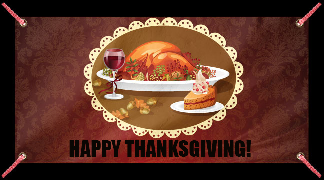 Classic Turkey Dinner - Custom Banner