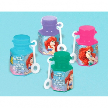 Disney Ariel Mini Bubbles Favors