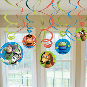 Toy Story 3 Swirls- 12ct