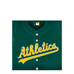 Oakland Athletics Luncheon Napkins- 36ct