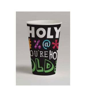 Holy Bleep 12 oz Cup - 8ct