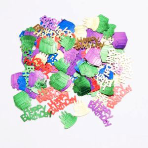 Cakes Balloons and Happy Birthday Confetti - .5oz