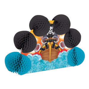 Pirate Pop-Over Centerpiece - 10inch