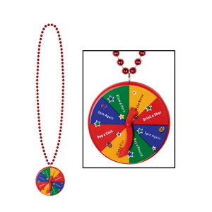 New Year Party Bead Spinner Medallion-40 Inch